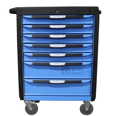 "32"" 7 Drawer Mobile HD Tool Chest Cabinet"