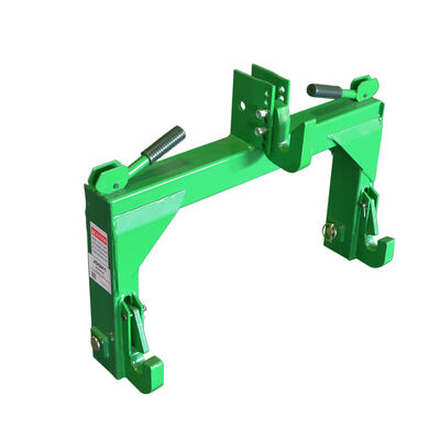 Green Quick Hitch Designed To Fit John Deere | 3 Point | Cat 1 & 2
