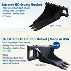 Extreme HD Stump Bucket Tree Scoop | V2