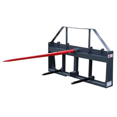 "UA 49"" Hay Frame w/ 2"" Hitch & Stabilizer Spears"