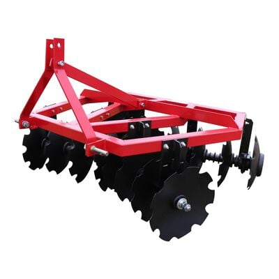 Cat 1 3 Point Notched Disc Harrow | 5 Feet