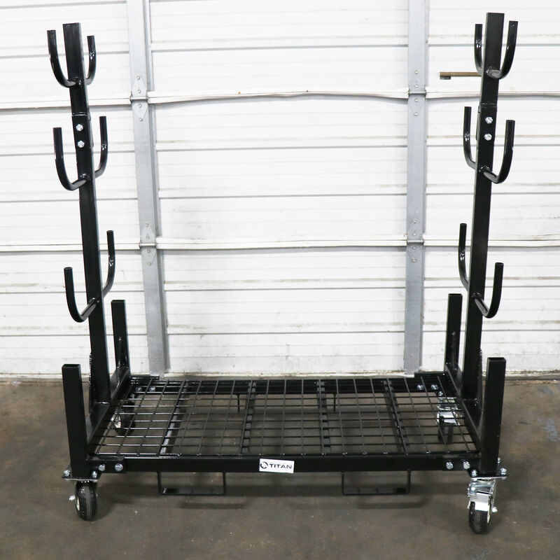 Mobile Conduit and Pipe Rack | 2,500 LB Capacity