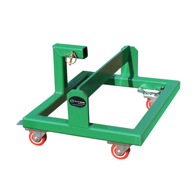 Suitcase Weight Cart with Receiver | Green