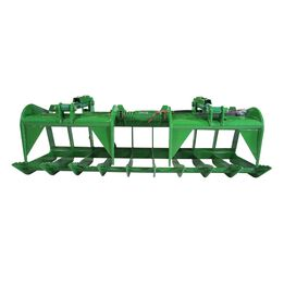 84-in Root Grapple Bucket Attachment Fits John Deere Global Euro Loaders