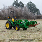 72-in Tine Bucket Attachment with 27-in Hay Bale Spears Fits John Deere Loaders