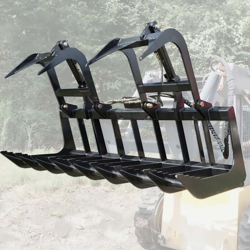 """72"""" Econo Grapple Bucket Skid Steer Front End Loader"""