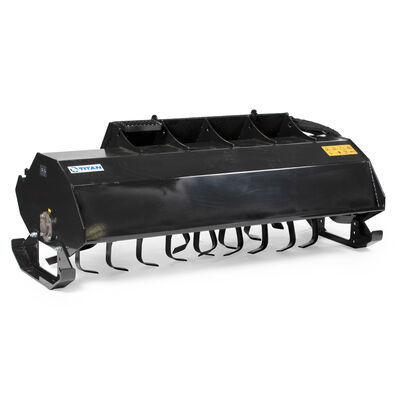 Blemished 6 FT Skid Steer Rotary Tiller