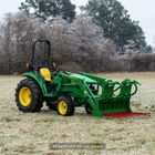 60-in Tine Bucket Attachment with 27-in Hay Bale Spears Fits John Deere Loaders