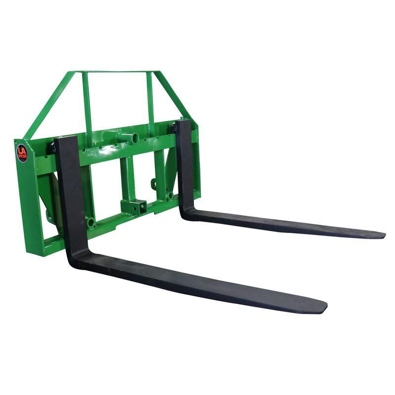 "UA Global 60"" Pallet Fork Frame Attachment with Headache Rack and Hitch 