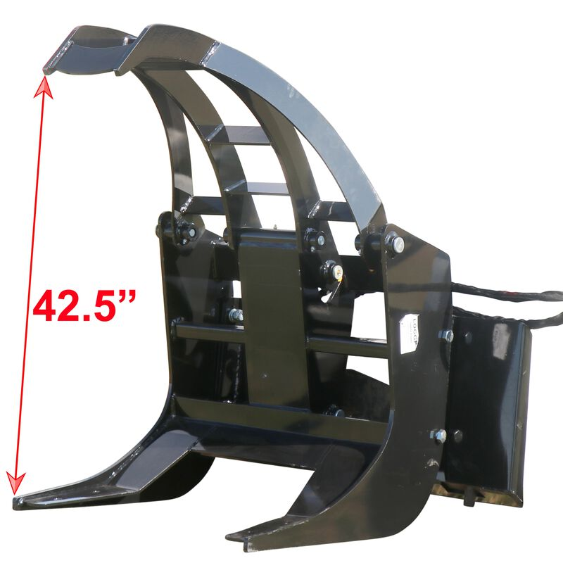 """29"""" Log Grapple Attachment for Skid Steers"""