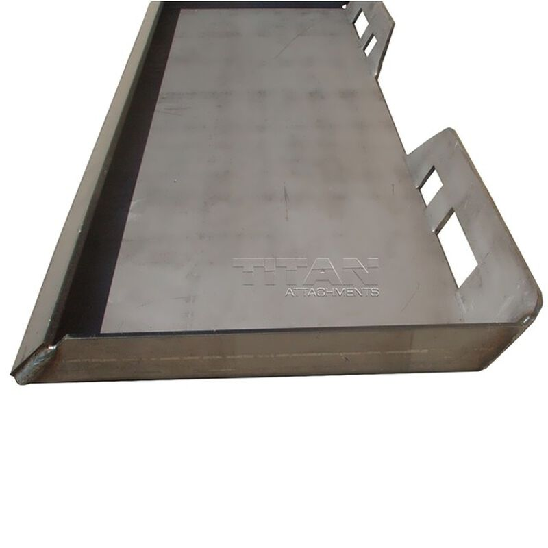 "5/16"" Attachment Mount Plate for Skidsteer bobcat kubota"