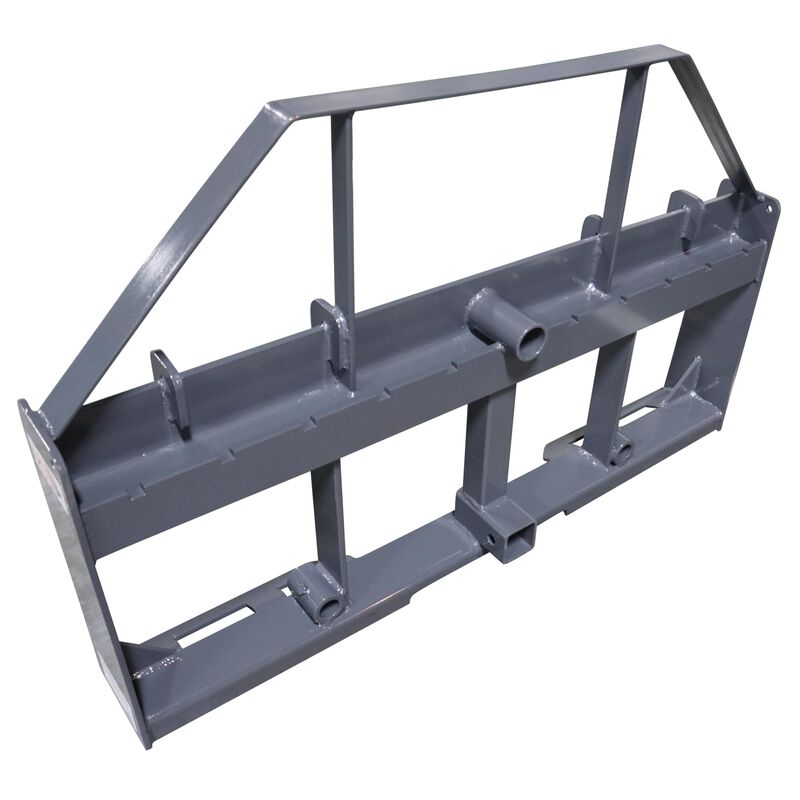 "UA 36"" Pallet Fork Hay Frame Attachment with Spears Rack and Hitch 