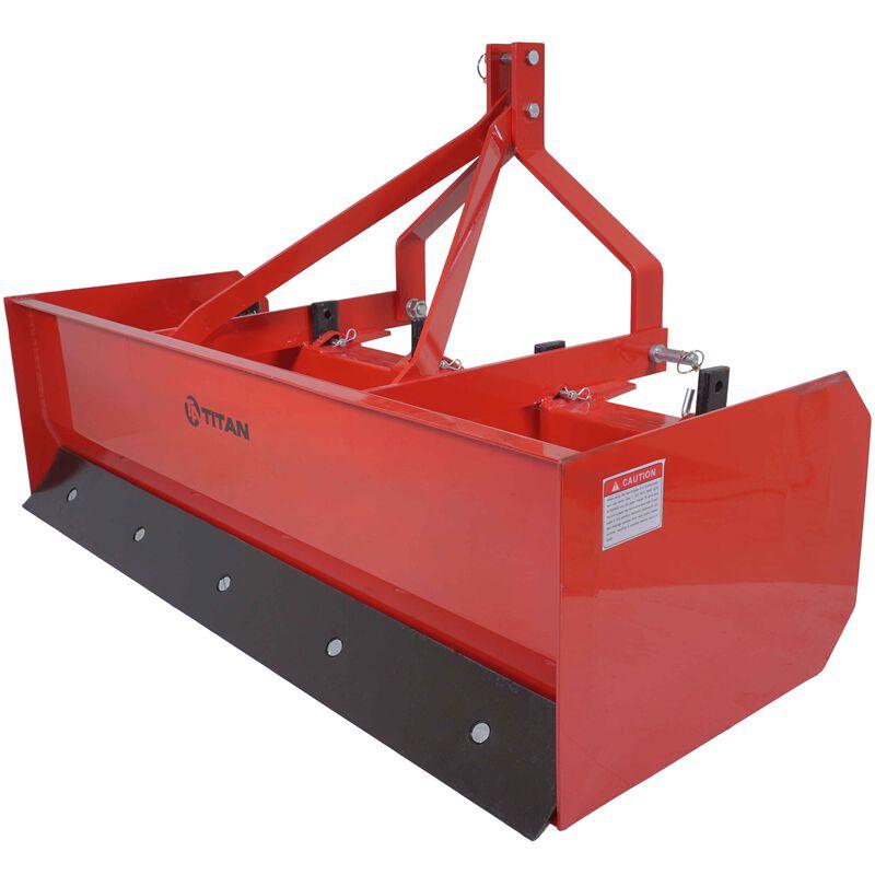 Titan 5' Box Blade Tractor Attachment