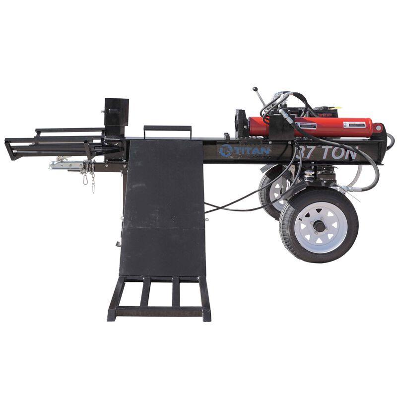 37 Ton 420cc Horizontal Log Splitter W Lift Catch