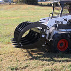 "Titan 60"" Extreme Skid Steer Root Grapple Rake Attachment"