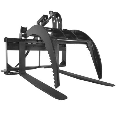 "Pallet Fork Grapple version 2 with 48"" Fork Blades"