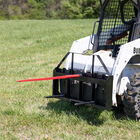 Pallet Fork Frame Attachment, 49-in Hay Spears and Stabilizers