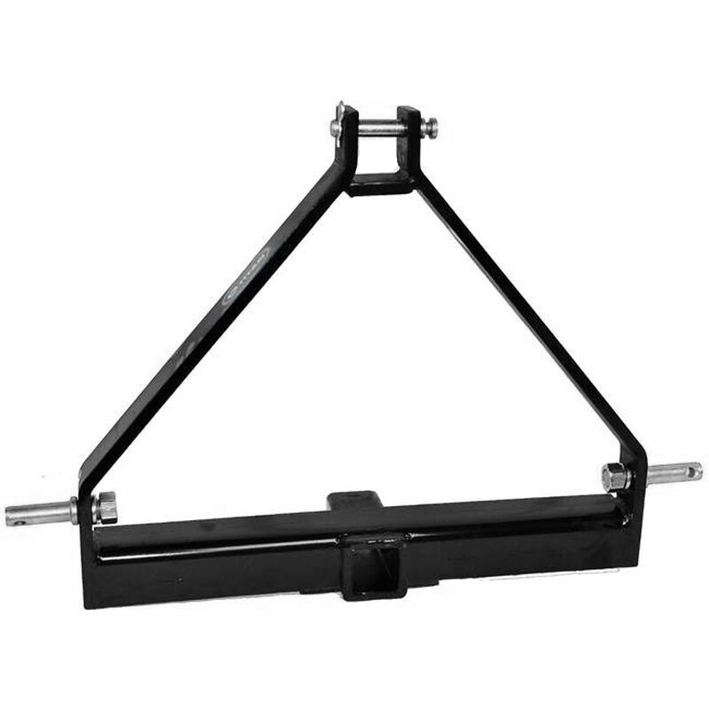 Category 1, 3-Point Tractor Drawbar Trailer Hitch - Quick Hitch Compatible