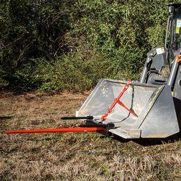 """Titan 39"""" Universal Hay Spear Bucket Attachment"""