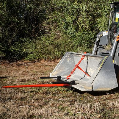 "Titan 39"" Universal Hay Spear Bucket Attachment"