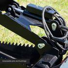 Skid Steer Stump Bucket Grapple Attachment Extreme Duty