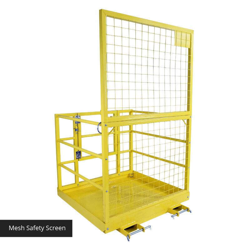 """LW Forklift Platform Safety Cage 45"""" x 43"""""""