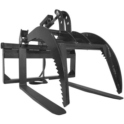"Pallet Fork Grapple version 2 with 42"" Fork Blades"