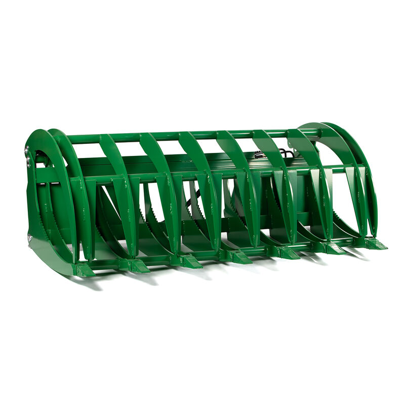 Titan 84-in HD Root Grapple Rake Attachment Fits John Deere Global Euro