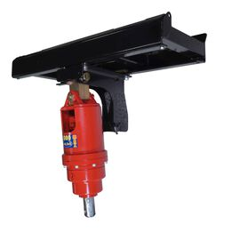 Heavy-Duty Skid Steer Auger Frame And Bracket With 3,000 PSI Planetary Drive Unit
