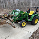 Pallet Forks Frame Attachment, Fits John Deere Tractors