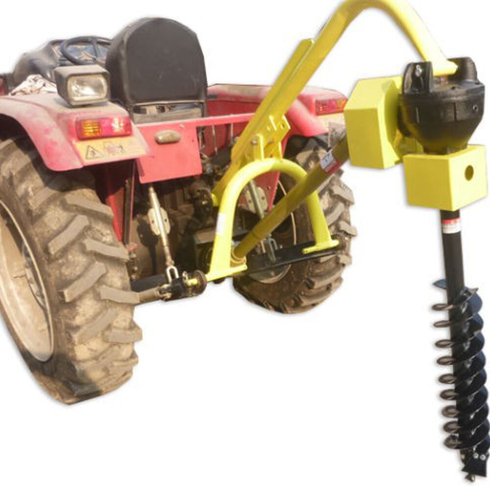 30 HP 3 Point PTO Post Hole Digger Attachment w/ Auger
