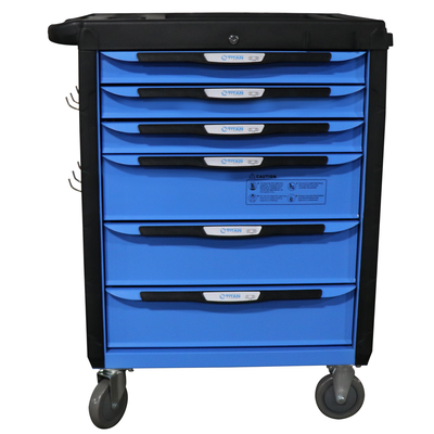 "32"" 6 Drawer Mobile HD Tool Chest Cabinet"