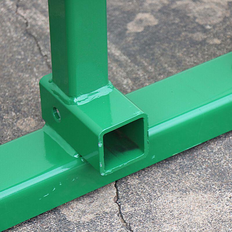 "Pallet Fork Frame | Fits John Deere | 2"" Hitch | 60"" Forks | Headache Rack"