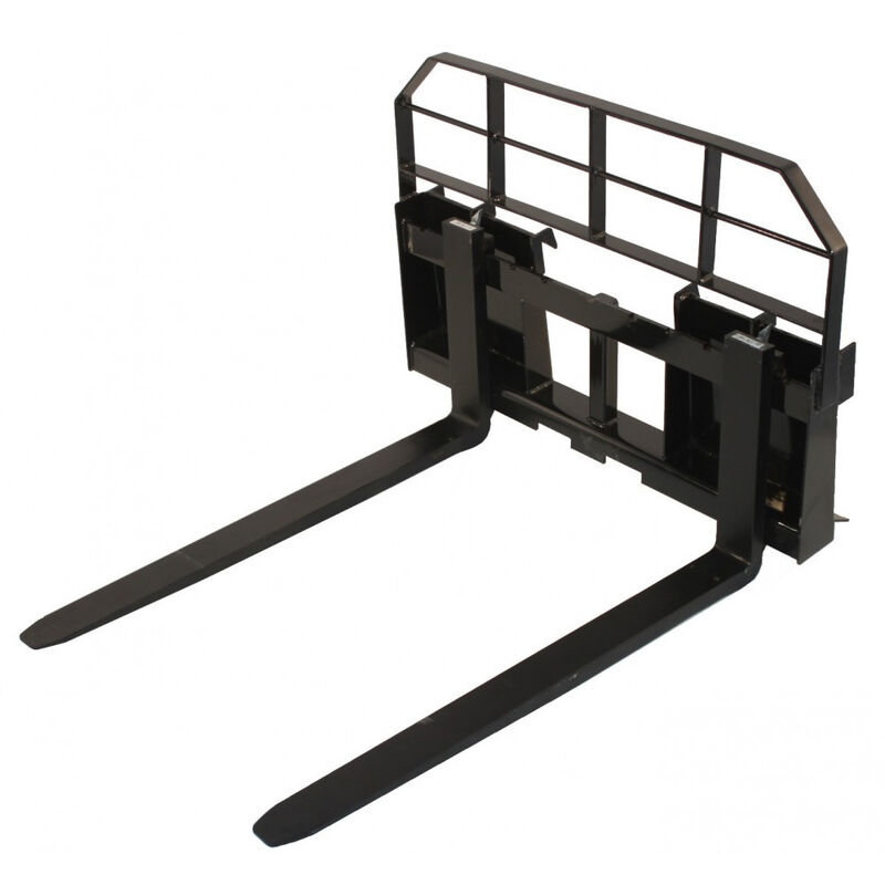 """42"""" HD Pallet Fork 5500 lb Capacity Attachment Tractor Skid Steer Quick Tach"""