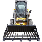 "60"" Rock Bucket Skeleton Loader w/ Teeth Skid Steer Bobcat"
