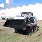 "72"" Skid Steer Bucket Attachment 3/16"" Thick 