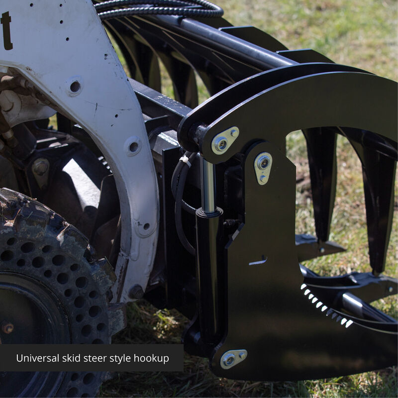 72-in Extreme Root Grapple Rake Attachment
