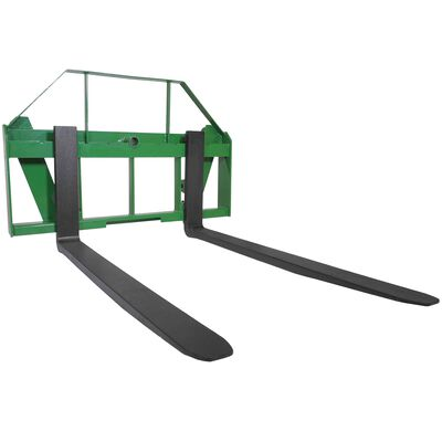 "60"" Pallet Fork Attachment fits John Deere Global Euro"