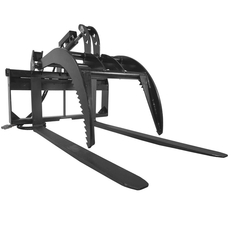 "Pallet Fork Grapple version 2 with 60"" Fork Blades"