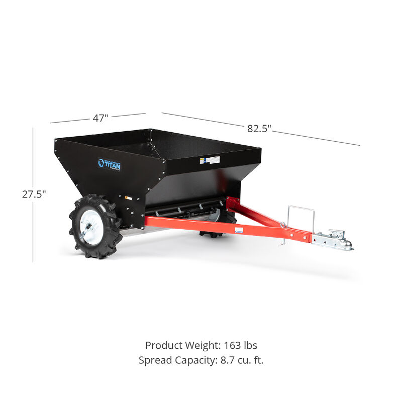 Compact 35-in Manure Spreader