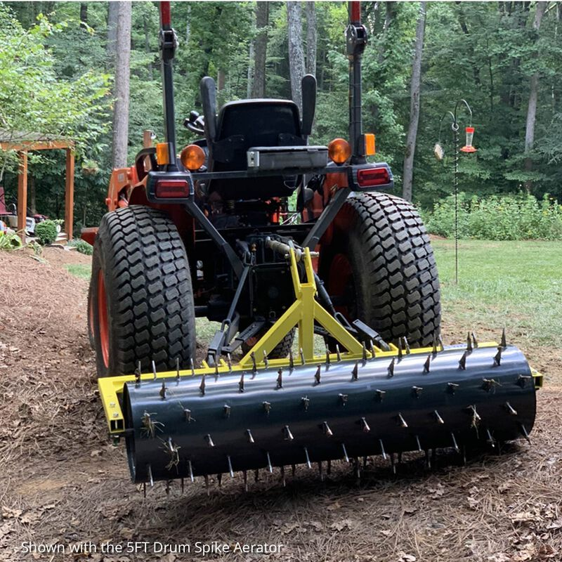 Drum Spike Aerator, Cat 1 and 2, 3-Point
