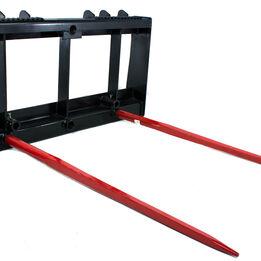 "Titan 43"" Universal Skid Steer Hay Spear Attachment 4,000 lbs Capacity"