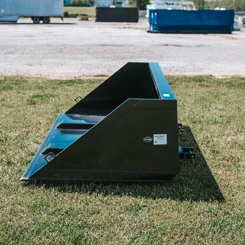 96-in Fork Mounted Telehandler Bucket