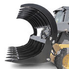 "84"" Extreme Skid Steer HD Root Grapple Rake Attachment Clamshell"