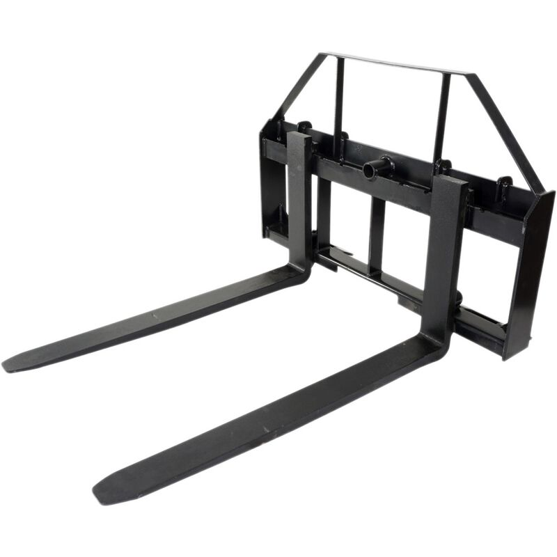 "60"" Pallet Fork Attachment, Landscape Forks, Kubota/Holland Skid Steer, Quick At"