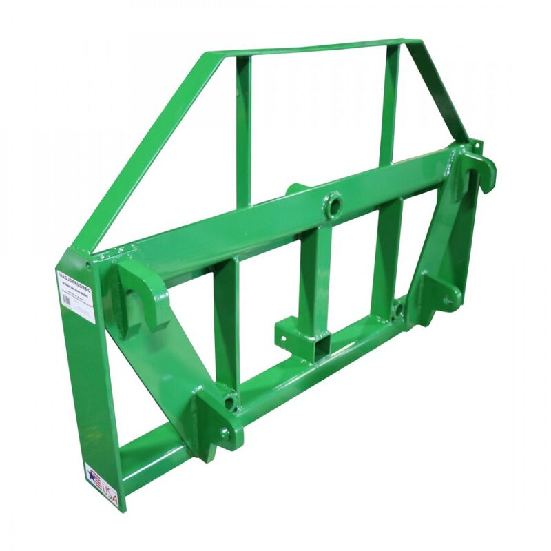 UA Global Pallet Fork Hay Frame Attachment with Rack and Receiver Hitch | USA