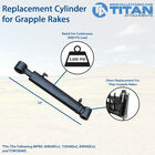 Replacement Cylinder For Titan Grapple Rakes
