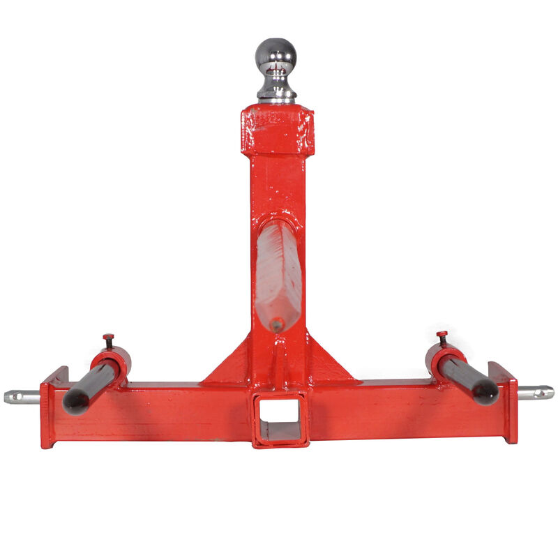 3 Point, 43-in Hay Attachment Gooseneck Tractor Trailer Hitch