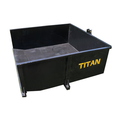 Category 1 3-Pt. Hitch Hydraulic Dump Box | 30 Cu. Ft.