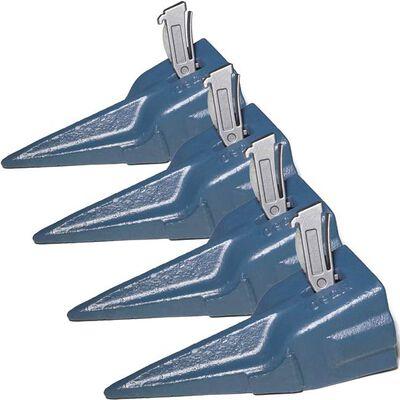 X290TT Bucket Teeth w/ K290S Spring Flex Pin (4 Piece)